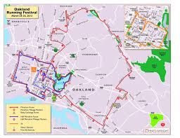 Nyc Marathon Route Map 2012 Oakland Marathon Race Report So Good So Bad So Oakland