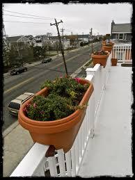 having the small deck rail planters amazing home decor amazing