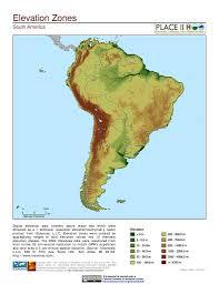 Sur America Map by Map Gallery Sedac