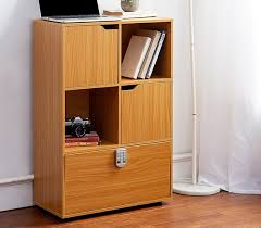 Beech Bookshelves by Yak About It Locking Safe Bookshelf Beech