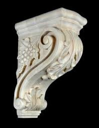 Bar Corbel Corbel Drapery Curtain Rod Holder Set Of Two Decorative Resin