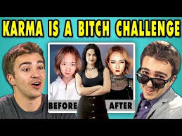 Challenge React Adults React To Karma Is A Challenge