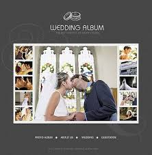 modern photo album modern wedding album design on pickleberrypop album templates