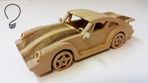porsche model car wooden porsche 911 turbo youtube