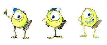 beautiful new concept art released for pixar u0027s u0027monsters