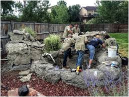Backyard Waterfall Ideas by Backyards Superb Water Features In Colorado 144 Outdoor