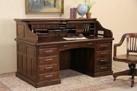 Old Roll Top Desk Sold Globe Wernicke Signed Oak 1900 Antique Roll Top Desk