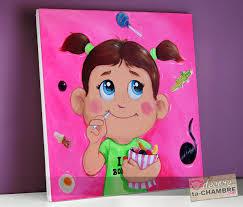 tableau deco chambre fille tableau chambre d enfant fushia vente tableaux pour fille