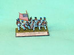 Mexican American Flag Gajo Newly Painted 15mm Mexican American War American Listings
