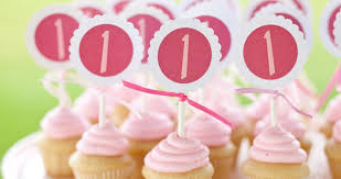 cupcake toppers one charming party birthday party ideas tuesday tutorial