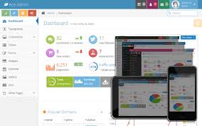 ace responsive admin template selling for 18 00