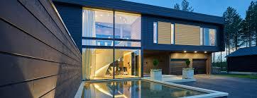 maison en bois style americaine maisons en bois massif design contemporain ou traditionnel