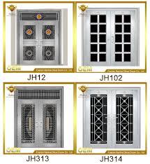 newest design high quality front door designs safety door design