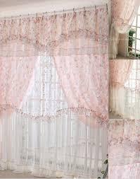 tende in pizzo francese finestra di casa tende experince rosa pizzo floreale e poliestere