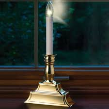 decoration gold pewter window candles battery operated candles in