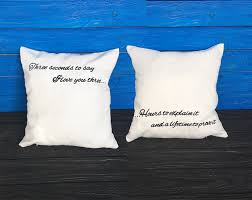quote pillow cover set of two pillows quote pillowcase decorative