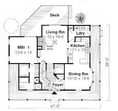farmhouse floor plan capecod house plan chp 29859 at coolhouseplans
