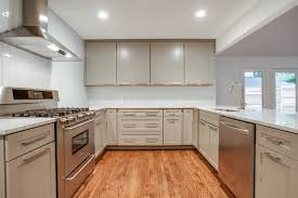 kitchen design rustic u shape kitchen design with built in