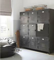 kids lockers ways to use metal lockers in kids rooms storage kidspace
