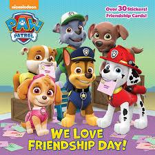 we friendship day paw patrol by random house
