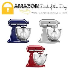 kitchenaid stand mixer black friday sale amazon amazon 38 off kitchenaid stand mixers with glass bowl