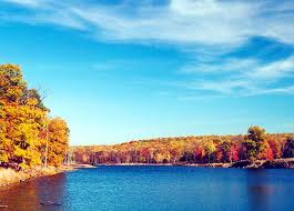 fall foliage lakes delaware water gap