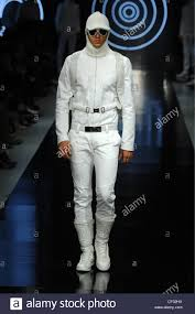 all white jumpsuit byblos milan menswear ready to wear autumn winter all white stock
