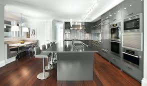 Grey Cabinets Kitchen Painted Tan Grey Kitchen Cabinet Paint Color With Silver Setting And