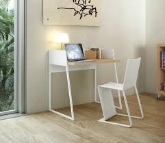 Oak Study Desk Temahome Volga Office Desk In Pure White And Oak Or Pure White