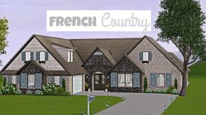 french country the sims 3 youtube