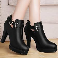 womens boots heels glam up with ankle boots popfashiontrends