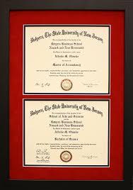 degree frames diplomas certificates my framing store inc