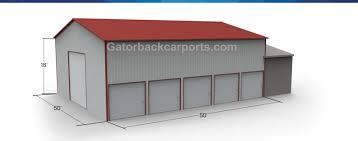 gatorback carports u2013 design metal building