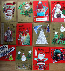 christmas cards ideas for kids ne wall