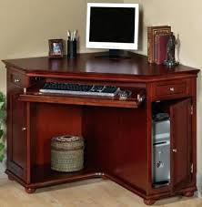 cherry wood computer desk with hutch collection in computer desk