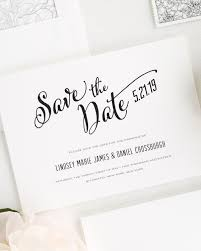 Save The Date Modern Script Save The Date Cards Save The Date Cards By Shine