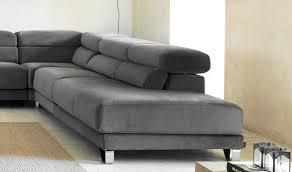 canapé contemporain canapé d angle en velours avec assise coulissante cuzco