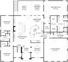 Split Ranch House Plans by Ranch Floor Plan This Is Pretty Much My Dream Home Basics