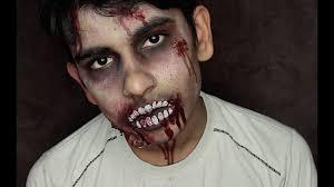 Dead Halloween Makeup by Halloween Zombie Facepaint Tutorial The Walking Dead Inspired