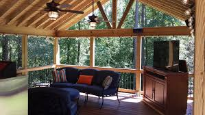 Screen Porch Designs For Houses Porches In Macon And Warner Robins Ga Area