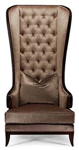 Safavieh Home Furnishing Safavieh Home Furnishings Christopher Guy High Back Tufted Wing
