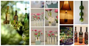 15 diy ways how to reuse glass bottles top dreamer decor collage