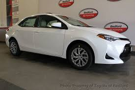 toyota corolla with rims 2018 toyota corolla le cvt at toyota of bedford serving