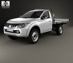 mitsubishi triton 2005 mitsubishi triton single cab alloy tray 2015 3d model hum3d