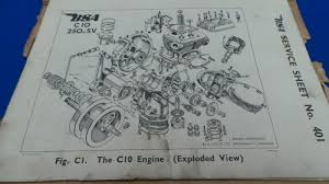 100 bsa c12 repair manual old radio information bsa a10 bsa