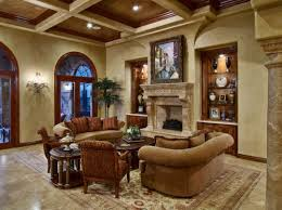 Design A Tuscan Living Room Home Design  Layout Ideas - Tuscan family room