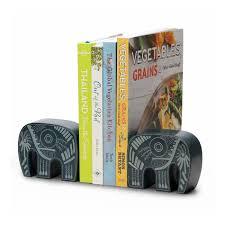 buy decorative elephant shape stone bookends