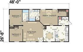 House Floor Plans With Dimensions Floor Plans The Jefferson 613 Manufactured And Modular Homes