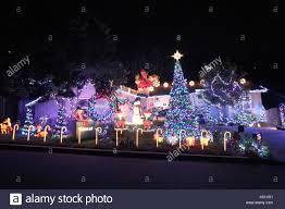 christmas light displays los angeles christmas house crazy home christmas display in los angeles a home