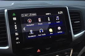 honda pilot audio system 2016 honda pilot term road test audio technology